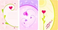 flower,heart,card