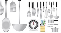 kitchen,appliance,knife,spoon,scale,showvels