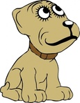 cartoon,media,clip art,externalsource,public domain,image,svg,animal,mammal,dog,uspto