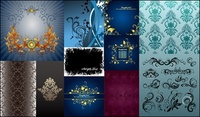victorian,filigree,scrollwork,exquisite,fashion,pattern,vector,material,package