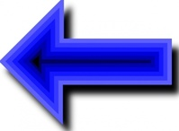 left,blue,arrow,sign,media,clip art,public domain,image,png,svg