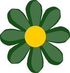 green,flower,media,clip art,public domain,image,png,svg