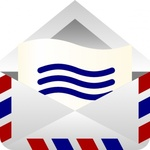 barretr,mail,envelope,computer,software,application,email,air mail,icon