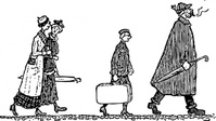 walking,train,people,luggage,group,media,clip art,externalsource,public domain,image,png,svg