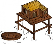fishery,cartography,map,geography,fantasy,building,wooden,fishing,boat,home,house