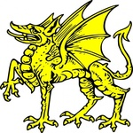 dragon,heraldry,animal,media,clip art,externalsource,public domain,image,svg