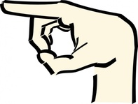 pointing,hand,point,cartoon,media,clip art,public domain,image,png,svg