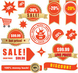 100%,cart,cheap,discount,guaranteed,hot price,label,lables,money,new,red,sale,satisfaction,shopping,tag
