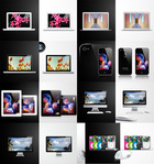 apple,art,camera,collection,color,colourfull,flower,glass,glasses,headphone,i-pad,i-phone,ipad,light,product,screen,sea