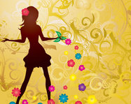 background,dance,female,floral,lady,ad,advertising,advertizing,art,beautiful,girl,beauty,salon,body,brand,branding,care,coreldraw,craetive,decorative,dress,elegant,fake,fashion,figure,flora,backgroung,flower,glamour,gold,golden,hair,haircut,illustration,spa