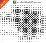 circle,decoration,element,free vector,half tone,halftone,pattern,spotted