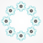 abstract,flower,circle,mandala,ornamental,geometric,geometric flower,abstract flower
