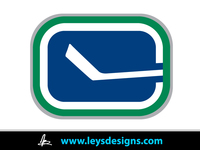 vancouver canuck,canuck,hockey,official stick logo,ley  design
