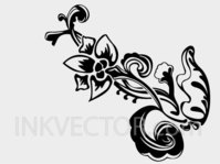 floral,hand draw,flower,flowery,plant,organic,sketch,flower vector,element,hand drawn floral,ornament,sketchy