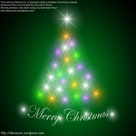 christmas,tree,background,glowing,light,vibrant,allonzo inc,luminous,card