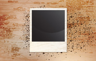 background,creative,damaged,grunge,messy,photo,photography,stain,vintage,polaroid,black,white,cartridge,film,negative,frame,template