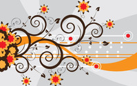 swirl,abstract,floral,flower,background,abstraction,illustration