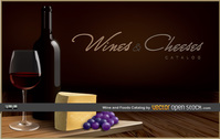 wine,grape,bottle,cheese,table,wood,catalog,elegant