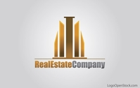 real,estate,building,logo