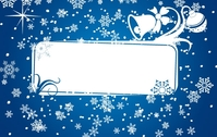 banner,bell,celebration,christmas,decoration,frame,holiday,ornament,snow,snowflake,vector