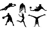 tennis,golf,football,soccer,basketball,sport,silhouette