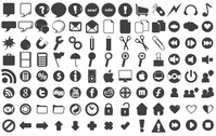 icon,facebook,twitter,digg,linked,in,google,youtube,volume,butons,heart,sale,scissors,bomb,moviestrip,paper,xp,mac,apple