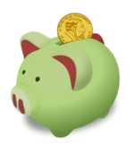 saving,bank,coin,money,cash,finance,piggy,piggybank,pig,green,gold,moneybox,deposit,credit,coin,coin