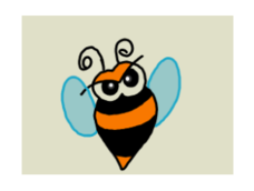 bee,bumble bee,insect,cute bug,cute bee,cartoon bee,cartoon bug,cartoon,funny,cute