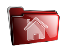 folder,icon,red,home,roshellin