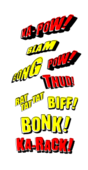 comic book sound effects pow ka pow,comic book sound effects pow ka pow