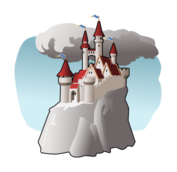castle,palace,fortress,fairy tale,tale,rpg,mountain,hill,tower,building,architecture