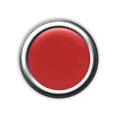 red,button,light,off,internal,round,circle,circular,press,chrome,bezel