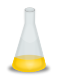 conical,flask,nutrient,science,micro-biology,biology,growth,bacteria