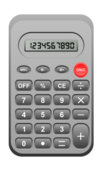 calculator,device,number,sum,mathematics,operation,study,school,student,automatic,digital,button,operator,square root,count,memory,percent