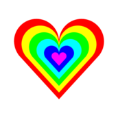 6,color,rainbow,heart
