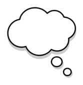 bubble,dream,thought,line art,cartoon,cloud,white,shadow,thinking,think,round,comic