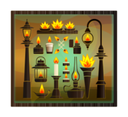 flame,fire,vessel,flames vessel,tealight,light,orange,yellow,lamp,kerosene lamp,street light,match,lighter,torch,candle,glass,tealight holder,candle holder,gas lamp