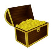 pirate,treasure,chest,gold,booty,photorealistic
