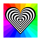 valentine,day,heart,color,black,white,stripe,zebra,love,pattern,valentine,inkscape