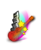 music,guitar,keyboard,star,rainbow,music,guitar,keyboard,star,rainbow