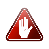 red,hand,icon,white,glossy,stop,warning,white hand,red triangle,triangle