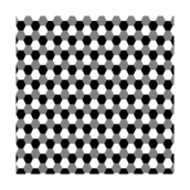 hexagon,black,white,gray