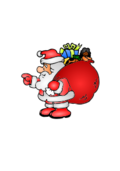 bag,santa claus,xmas,christmas,gift,present,cartoon,holidays2010
