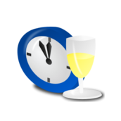 worldlabel,new year,clock,champagne,event,holiday,occasion,icon,color,new year,event,holiday,occasion