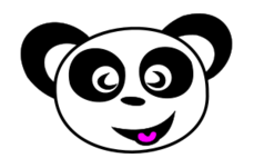 panda,zoo,animal face,panda face,smile,creature,funny face,panda