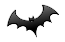 halloween,black,silhouette,icon,avatar,spooky,ghost,text,shade,bat,glossy,gloss