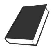 book,greyscale,black and white,closed book