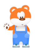 bear,animal,cartoon,anthropomorphized,overall,cute