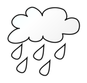 rain,line art,outline,coloring page,black and white,weather