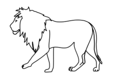 lion,line art,outline,black and white,coloring,coloring book,africa,africa